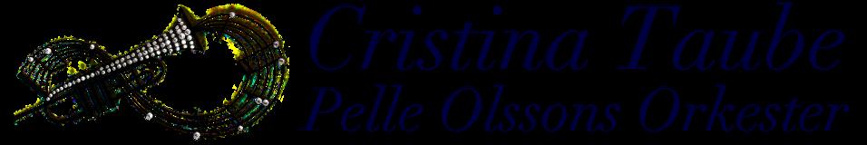 Cristina Taube med Pelle Olssons orkester